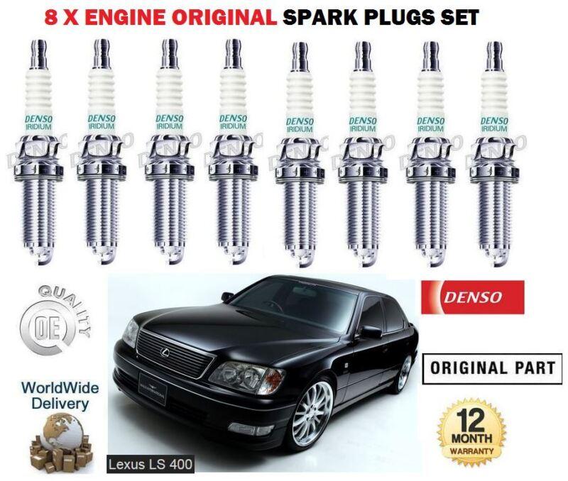 FOR LEXUS LS400 4.0 1UZ-FE 1989-2000 NEW ORIGINAL IRIDIUM SPARK PLUGS 8 SET