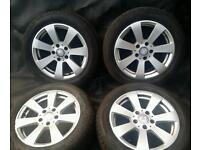 16 inch 5x112 genuine Mercedes C-class 2010 alloys wheels