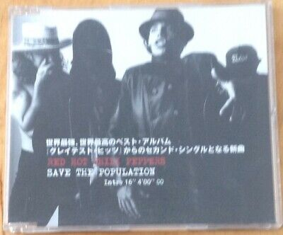 RED HOT CHILI PEPPERS - SAVE THE POPULATION JAPANESE PROMO