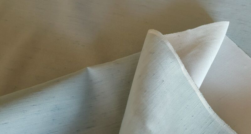 """Powder Blue slubbed fabric!!!  43"""" Wide!!  Sold by the Yard!!  FREE SHIPPING!!"""
