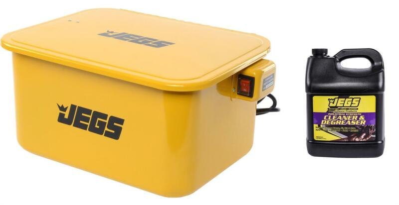 JEGS 81526K1 Portable Parts Washer Kit 5-Gallon Tank Includes: Parts Washer 1 Tw
