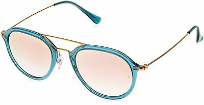 Ray-Ban RB4253-62367Y-50 Aviator Sunglasses Turquoise/Turquoise (Ray Ban Aviator Female)
