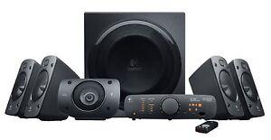 Logitech Z-906 5.1 Speakers - Brand New UK Version, Fast UK Dispatch
