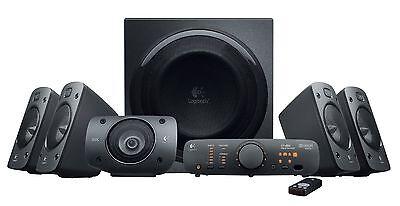 Logitech Z906 THX-Certified 5.1 Digital Surround Sound Speaker System- 980000467