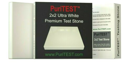 1 WHITE Acid Test Stone Gold Silver Platinum Testing Tool Tester Detect Jewelry