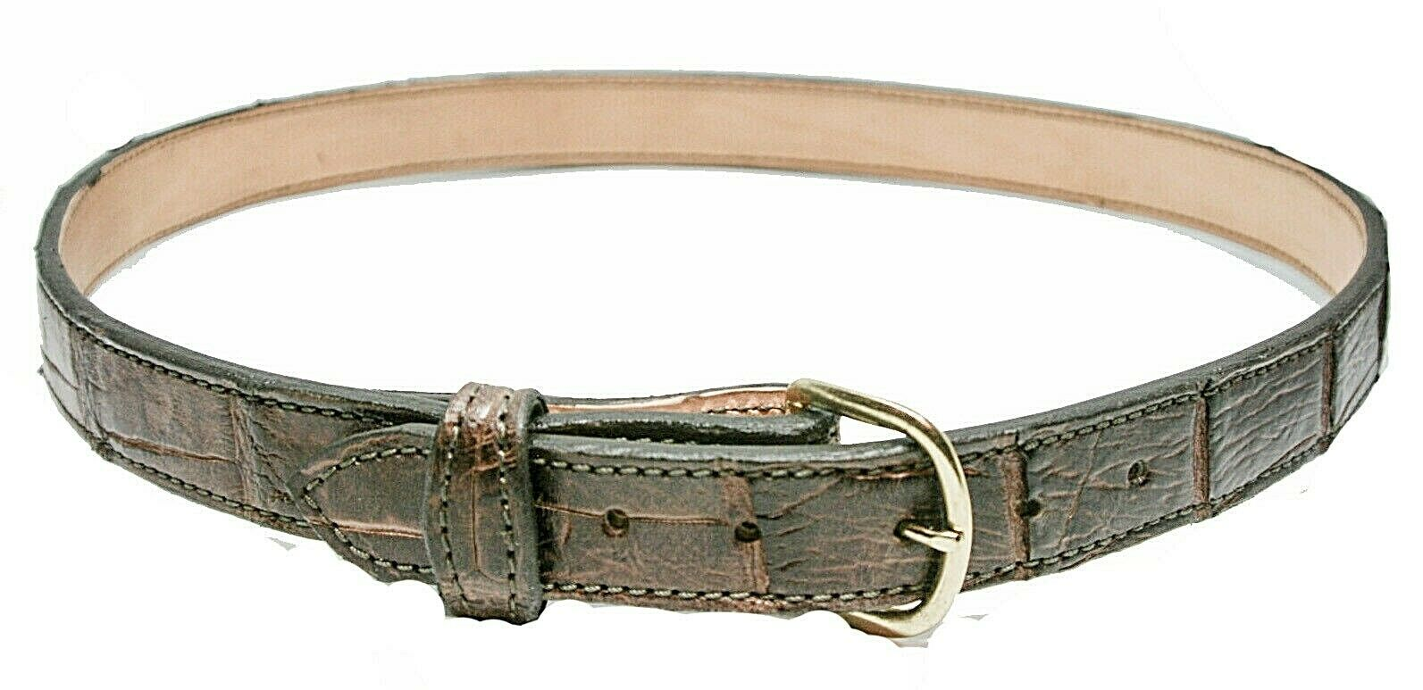 Alligator Belt, Real Florida Alligator 11/4 and 1 1/2 from 3
