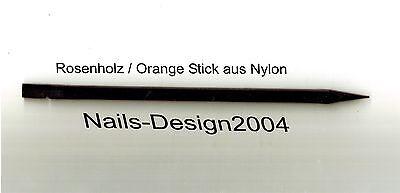 Rosenholz / Orange Stick aus Nylon / Cuticle Pusher