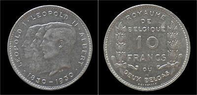 Albert I 10 frank (2 belga) 1930FR-pos A
