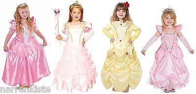 Prinzessin Kostüm Kleid Kinder Mädchen Fee Feen Elfe Elfen Märchen Rokoko Barock