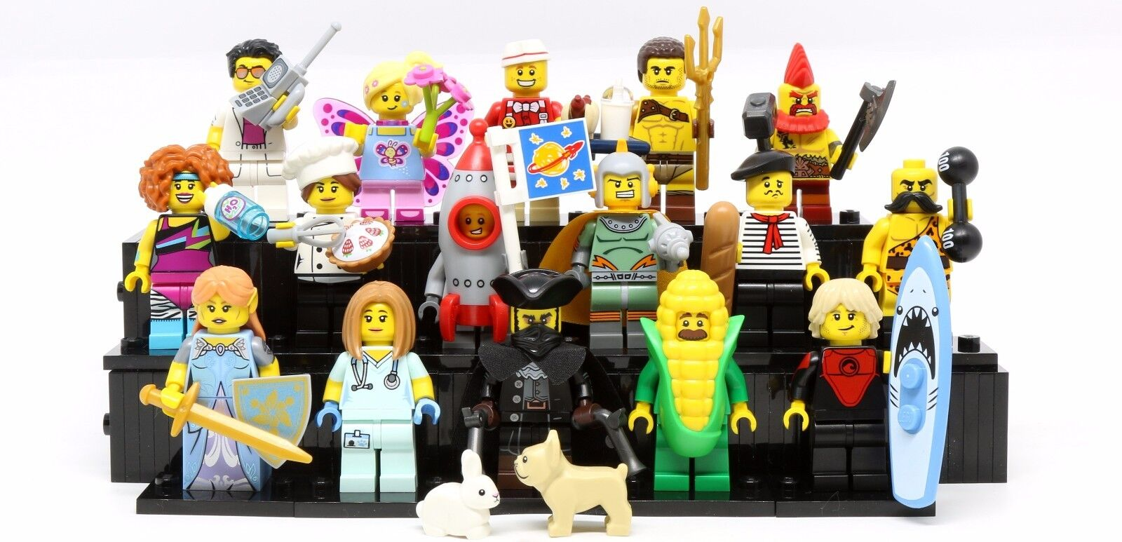 lego minifigures series 17 - HD 1600×773