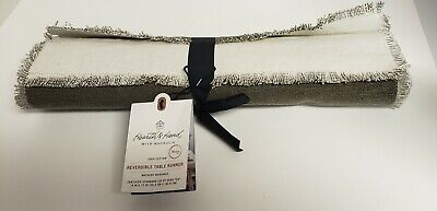 Hearth & Hand With Magnolia Reversible Table Runner