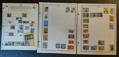 NEPAL STAMPS • MINT/USED • Small Collection All Shown • DON'T MISS!!