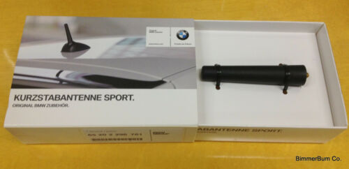 Genuine BMW Sport Short Stubby Antenna Z3 1.9 2.3 2.5 2.8 3.0 M Coupe Roadster