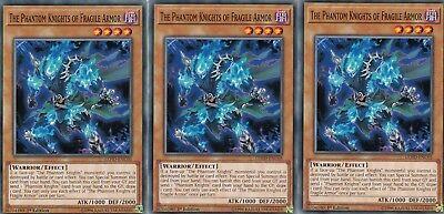 YUGIOH 3 X THE PHANTOM KNIGHTS OF FRAGILE ARMOR - LEHD-ENC05   1ST EDITION