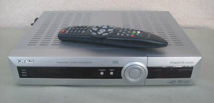 TOPFIELD TF5400PVR COMBO - DUAL TUNER SATELLITE TV AND DIGITAL TV