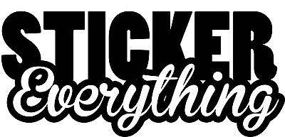 Sticker Everything