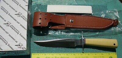 "BLACKJACK ""Classic Blades"" Model 1-7 Fixed Blade Knife (ant ivry saber handle)"