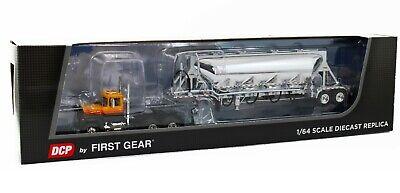 DCP FIRST GEAR 1:64 Mack R Model Day Cab w/J&L Pneumatic Non-Vac Tanker Trailer