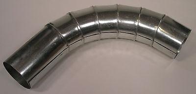 4 90 Deg Sheet Metal Elbow - Dust Collector Collection