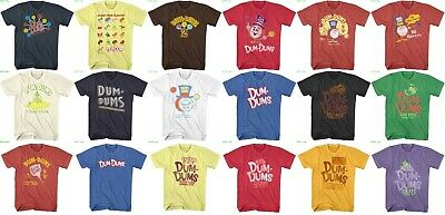 Dum Dums Original Lollipops Pop Candy Licensed T-shirt ](Dum Dum Candy)