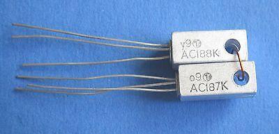 AC187K/AC188K Paar  Germanium Transistor  TUNGSRAM