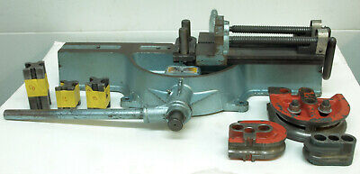 Lakeland Parker Model 624 Manual Tube Bender W 3 Shoes 20x3.25 14x2 8x1.25