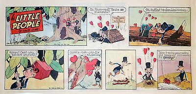 The Little People by Walt Scott - full color Sunday comic page - April 13, 1969
