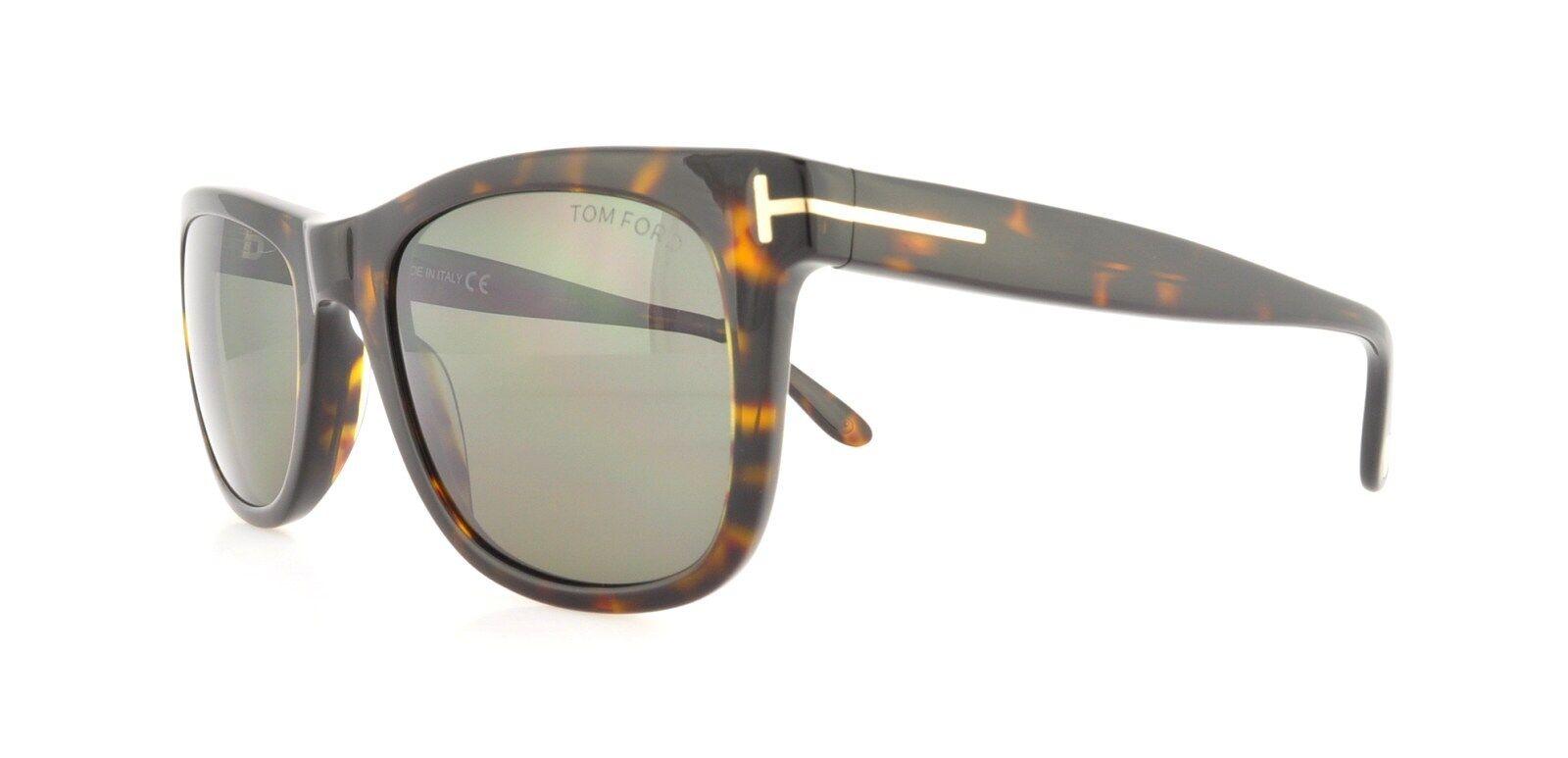 938372f1368 Tom Ford Leo 336 Wayfarer Leo Havana Polarized Sunglasses for sale ...