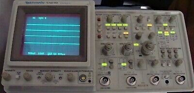 Tektronix 2467b 4 Channel 400 Mhz Oscilloscope W Extras Nist Calibrated