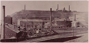 NEW Postcard Lowca Foundry Whitehaven Cumberland Iron Industry Rare West Cumbria