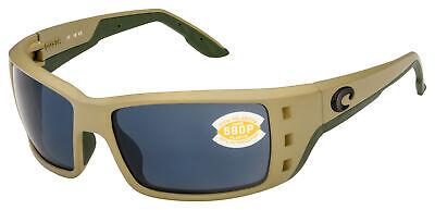 Costa Del Mar Permit Sunglasses PT-248-OGP Sand Frame | Gray 580P (Costa Del Mar Permit Sunglasses)