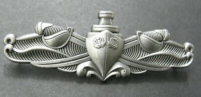 US Navy Enlisted Surface Warfare Breast Full Service Pin Badge 2.75 inches USN