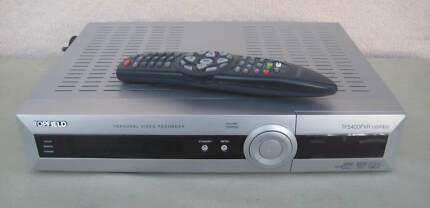 TOPFIELD TF5400PVR COMBO - DUAL TUNER SATELLITE TV AND DIGITAL TV