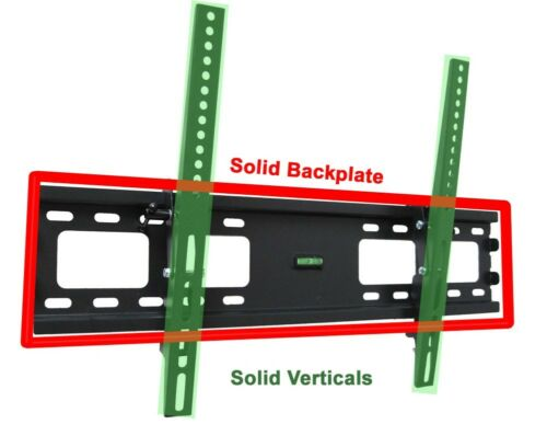 Купить SLIM LCD LED PLASMA FLAT TILT TV WALL MOUNT 32 37 42 46 50 52 55 57 60 65 70 80