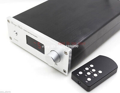 Finished HIFI PGA2311 Remote volume Controller Preamplifier 4 way input