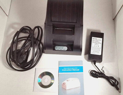 Usb Mini 58mm Pos Printer 384 Line Thermal Dot Receipt Printer Set