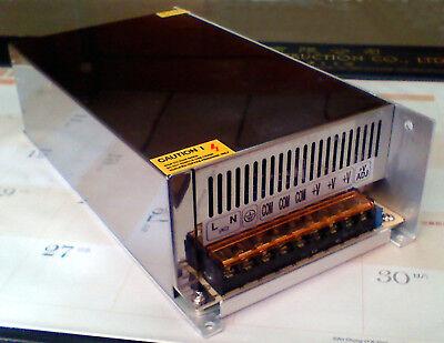 Cnc Machine Controller Servo Step Motor Driver Dc Power Supply 38- 48v 10a 500w