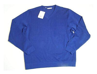 Cutter & Buck Mens Long Sleeve V Neck Pullover Sweater Tour (Cutter & Buck V-neck Pullover)