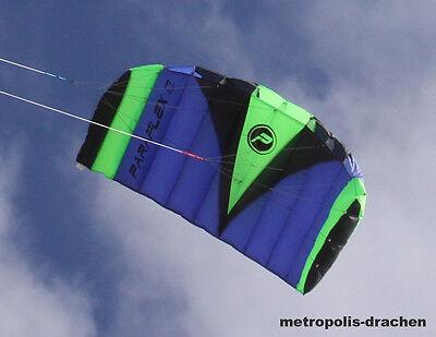 Paraflex Sport 2.3 blau - Die Lenkmatte mit Zugkraft VOM FACHHÄNDLER!