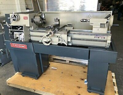 Clausing 13 X 32 Geared Head Variable Speed Engine Lathe - 1301