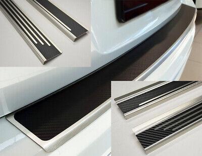 Opel Vivaro B ab2013 Einstiegsleisten Lackschutzfolie Schutzfolie 3D CARBON 2151