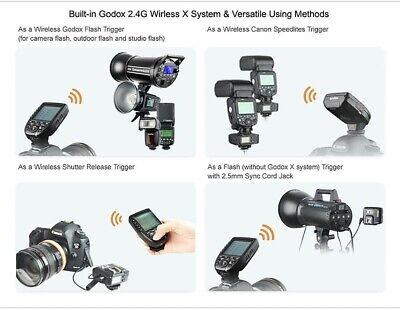 Godox Xpro-F 2.4 G TTL HSS Wireless Flash Trigger