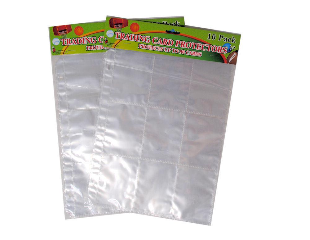 120 Card Protector Album Binder Sheets Sleeves 9 Pocket Bcw Ultrapro