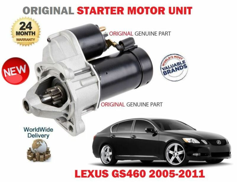 FOR LEXUS GS460 4.6 347bhp 1UR-FSE 2001-2011 NEW ORIGINAL STARTER MOTOR UNIT