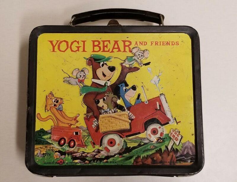 Vintage 1963 Yogi bear Hanna-Barbera lunch box Aladdin Industries
