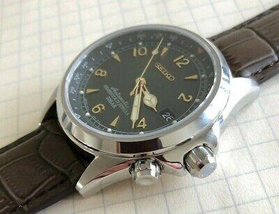Seiko Alpinist Men's Automatic Watch - Brown/Green (SARB017) - Barely Worn