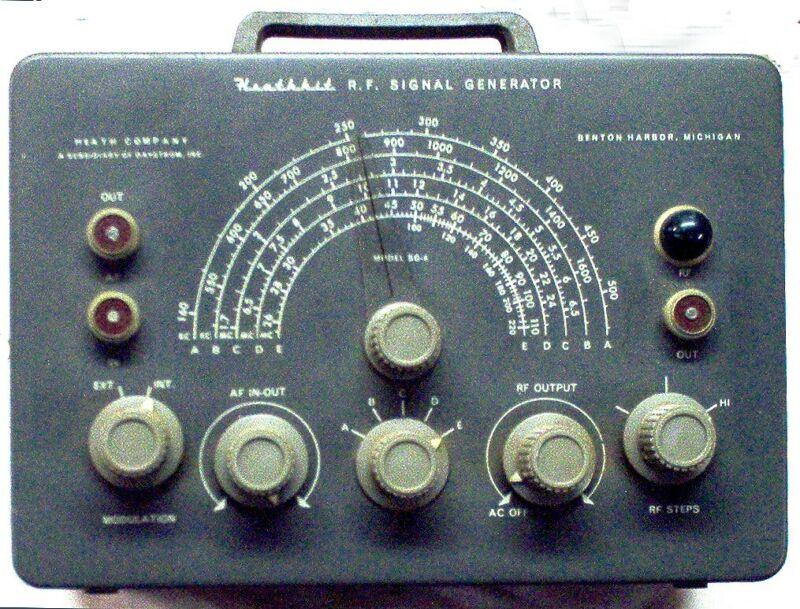 Set of TWO Vintage Radio Repair Instruments