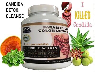potent candida cleanse infection treatment and detox