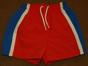 Boys-WONDER-KIDS-Shorts-SWIMMING-TRUNKS-Size-12-Months-NWOT