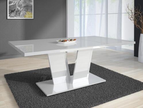 Moderne Witte Eettafel.Witte Eetkamertafel Wxt28 Tlyp